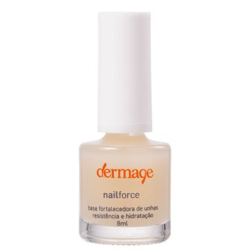 Dermage Nail Force - Base Fortificante Para Unhas 8ml