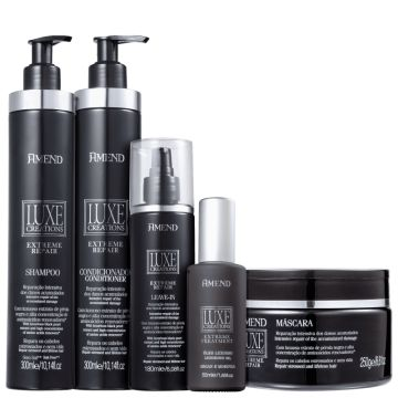 Kit Amend Luxe Creations Extreme Repair Full (5 Produtos)