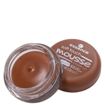 Essence Soft Touch Mousse 53 Matt Almond- Base Cremosa 16g