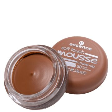 Essence Soft Touch Mousse 50 Matt Caramel- Base Cremosa 16g