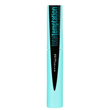 Maybelline Total Temptation Waterproof Blackest Black- Másca