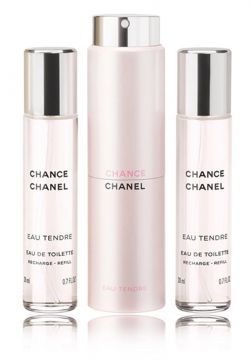 CHANCE EAU TENDRE EAU DE TOILETTE TWIST AND SPRAY