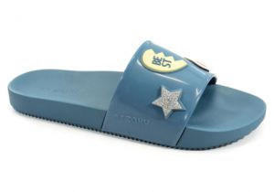 Chinelo Zaxy Snap Gaspea Azul Patches - 17333