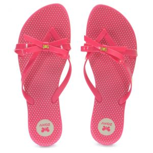 Chinelo Zaxy Fresh Top Rosa - 17097