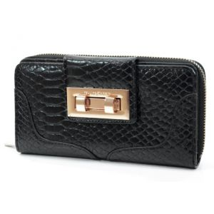 Carteira Fellipe Krein Croco Preto - CA21200