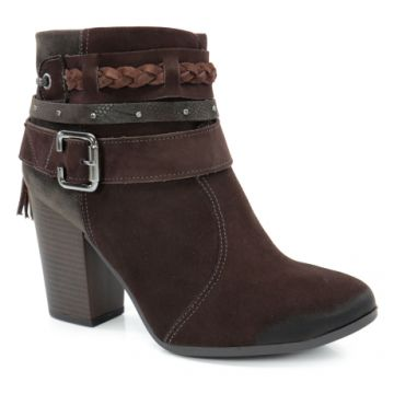 Bota Cano Baixo Dakota Chocolate Café - B7861
