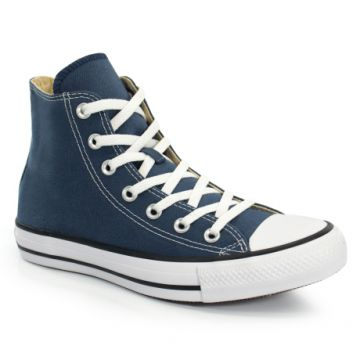 Tênis Cano Alto All Star CT As Core Hi Marinho Preto - CT00
