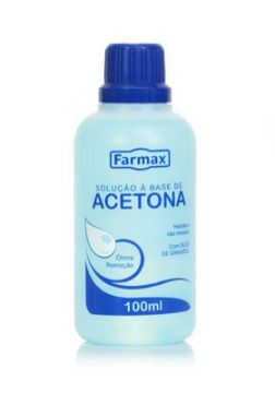 Removedor à Base de Acetona Farmax 100 ml