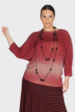 Blusa Jersey Degradê Plus Size