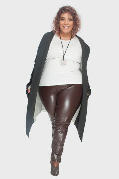 Fusô Montaria Leather Plus Size