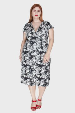 Vestido Flower Plus Size