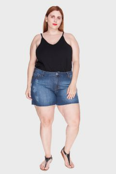 Short Stone Plus Size
