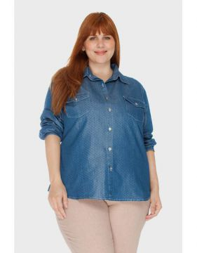 Camisa Póa Plus Size - Attribute