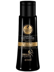 Complexo Fortalecedor Cavalo Forte 40ml - Haskell » CABELO