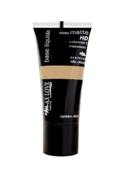 Base Líquida Efeito Matte HD Escura 11 - 40ml - Max Love
