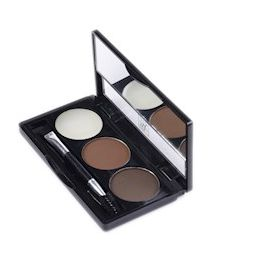 Kit Para Sobrancelha Go Brow Dark Brown - RK By Kiss