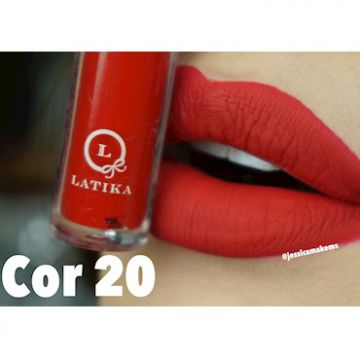 Lip Matte Batom Cor 20 4ml - Latika