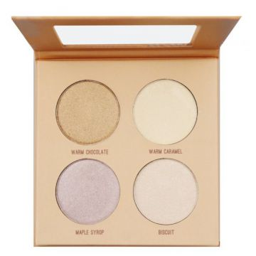 Paleta Iluminadora Glow Yout Skin Dark Highlight - Ruby Ros