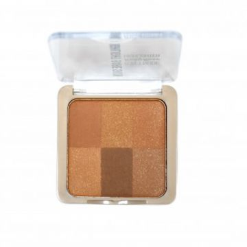 Pó Iluminador Bare Skin 6 In 1 Nude Cor 04 - Ruby Rose