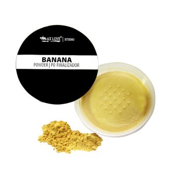 Pó Facial Finalizador Banana Powder - 16g - Max Love