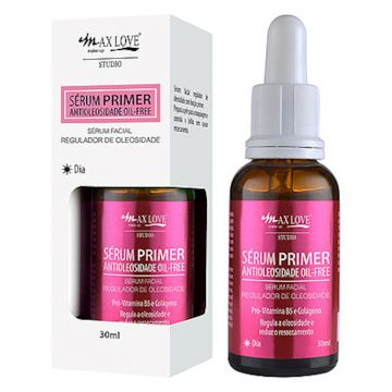Sérum Primer Antioleosidade Oil-Free Dia-30ml- Max Love