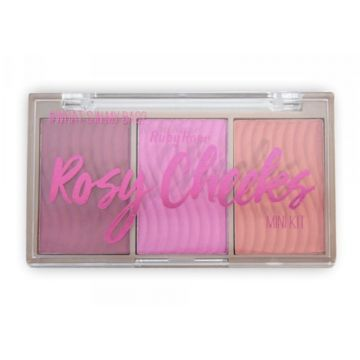 Paleta de Blush Rosy Cheeks - Ruby Rose