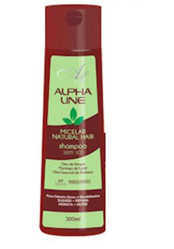 Shampoo Micelar Natural Hair 300ml - Alpha Line