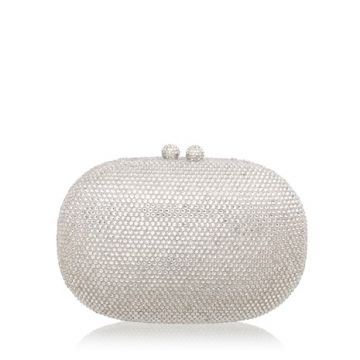 CLUTCH MINI CRISTAIS PRATA