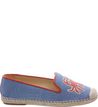 Espadrille Summer Embroided Light Jeans