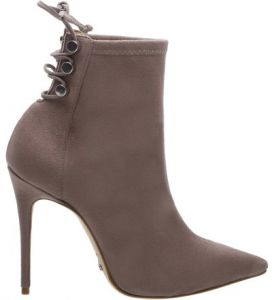 Ankle Boot Skinny Stiletto Mouse   SCHUTZ