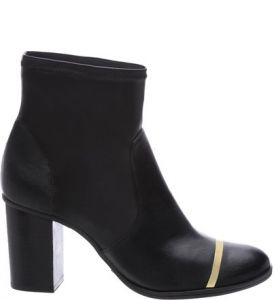 Ankle Skinny Boot Metal Black   SCHUTZ