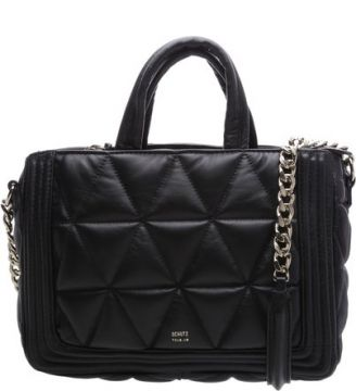 Mini Crossbody Maxi Matelassê Black   SCHUTZ