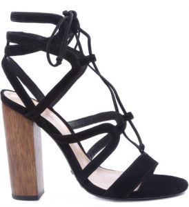Sandália Lace Up Black   SCHUTZ