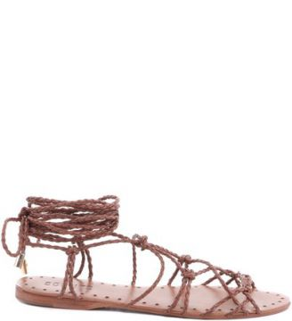 Rasteira Lace Up Suflair   SCHUTZ