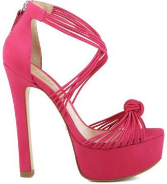 Meia Pata Knotted Rose Pink SCHUTZ