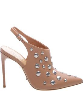 Slingback Studded Ankle Boots Toasted   SCHUTZ