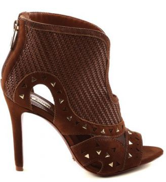 Ankle Boot Brown Com Recorte SCHUTZ