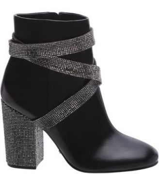 Ankle Boot Belt Shine Black   SCHUTZ