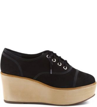 Oxford Flatform Black   SCHUTZ