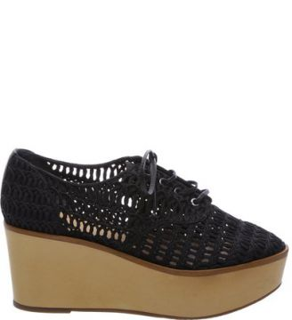 Oxford Flatform String Black SCHUTZ