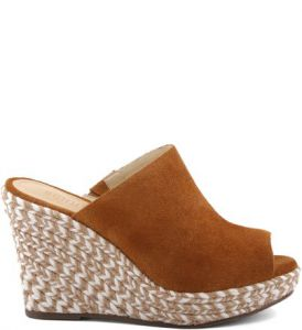 Wedge Bicolor Saddle   SCHUTZ