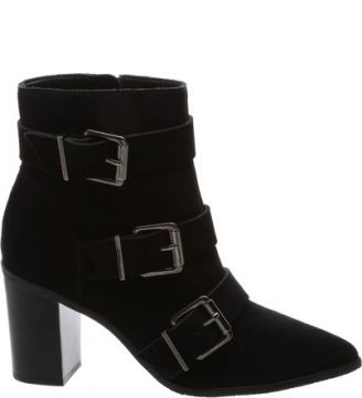 Ankle Boot Triple Belt Black   SCHUTZ