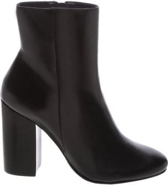 Ankle Boot Black Heel Leather Black   SCHUTZ