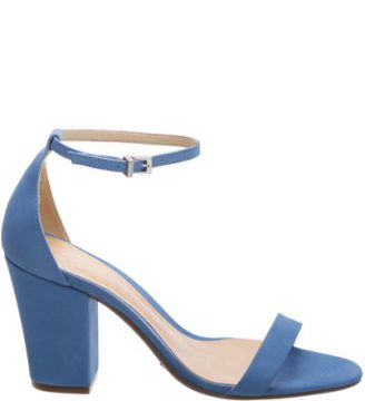 Sandália Midi-Heel Single New Ocean   SCHUTZ
