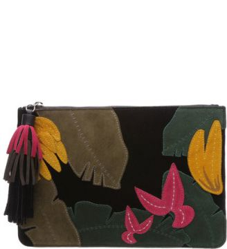 Clutch Tropical Black   SCHUTZ