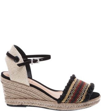 Espadrille Open Toe Black SCHUTZ