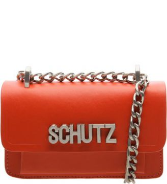 Pré-Venda Mini Crossbody Schutz Icon Red Orange   SCHUTZ
