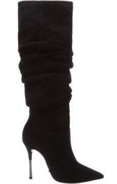 PRÉ VENDA ANNA Bota Over The Knee Suede Black   SCHUTZ