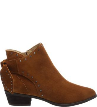 Ankle Boot Studs Wood   SCHUTZ