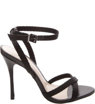 Sandália Slim Stiletto Black SCHUTZ